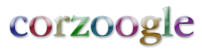 logo for corzoogle; fast realtime personal search engine from corz.org