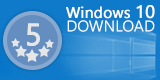 the windows 10 download logo