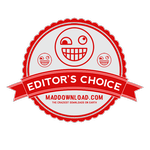 the mad download editor's choice logo
