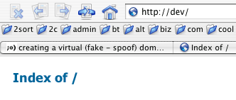 the how-to of one spoof domain step-by-step.