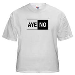 'AYE-NO', a mandala. by Cor - get the shirt!