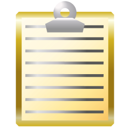A cute Clipbard icon designed specifically for Clipboard As Name. It took a lot longer to make than the program.