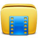 Folder Videos icon By Zerode small