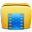 Folder Videos icon By Zerode tiny