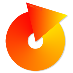 LoopDropZ logo - a simple circle, composed of an arrow turning in on itself, a loop. The colours are my yellow-orange gradient, the arrow growing darker as it turns, until realizing itself into a loop, oozes back to yellow, to begin again.